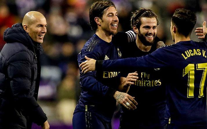 Real Madrid, Valladolid'i tek golle geçti