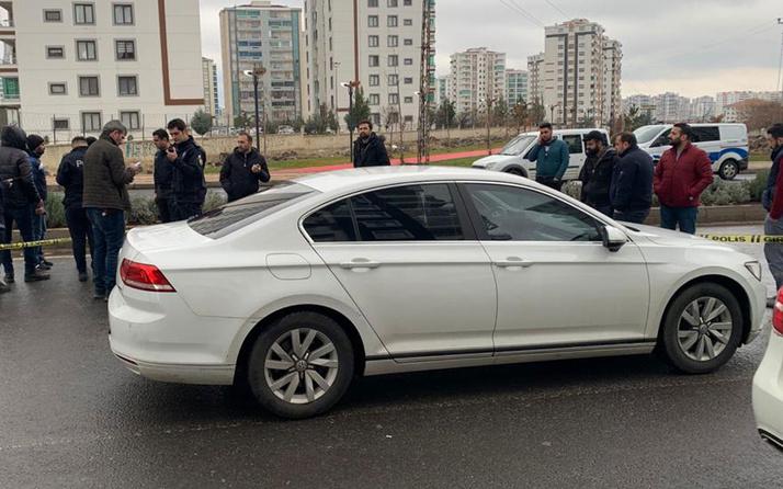 Diyarbakır'da korkunç olay! Otomobili durdurup husumetlisini öldürdü