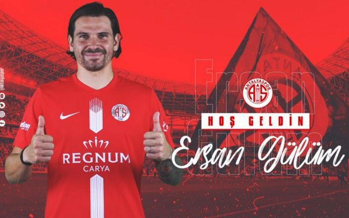 Antalyaspor, Ersan Adem Gülüm'ü açıkladı