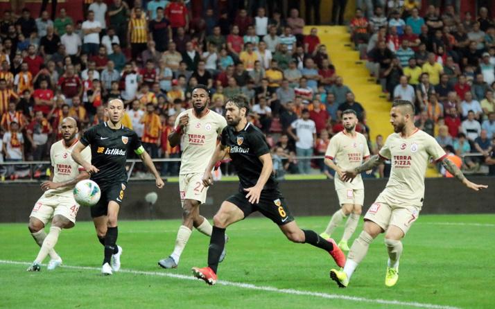 Galatasaray, Kayserispor'u konuk edecek