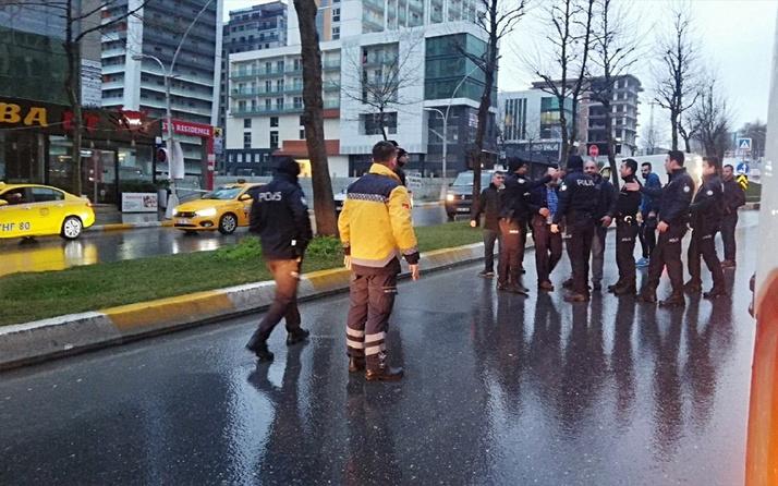 İstanbul'da taksiciler ortalığı savaş alanına çevirdi! Çok sayıda kişi gözaltında