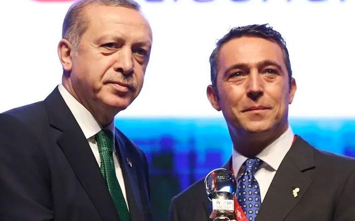 Ali Koç Trabzonsporla ilgili sözlerimin arkasındayım deyip Erdoğan'dan övgüyle bahsetti
