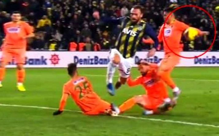 Fenerbahçe'de penaltı için büyük tepki