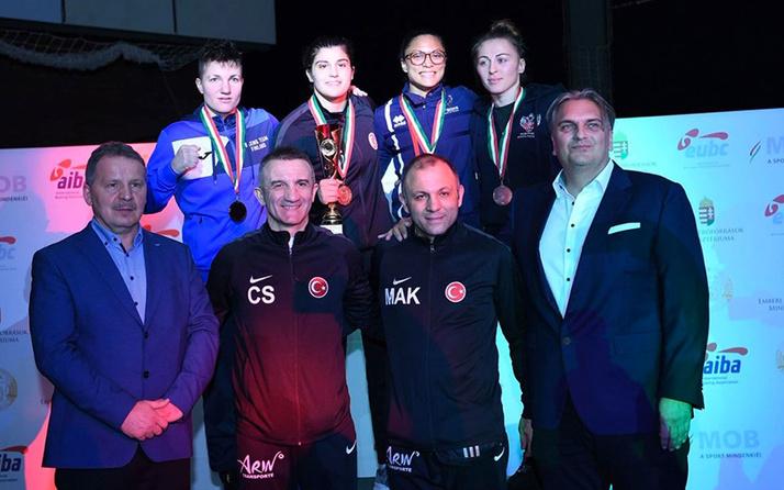 Milli boksörlerden bir altın, iki bronz madalya