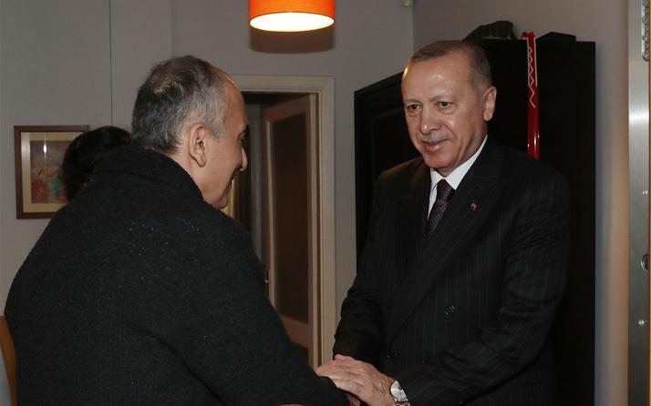 Erdoğan'dan Markar Esayan'a ziyaret