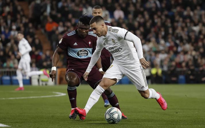 Real Madrid Celta Vigo'ya takıldı