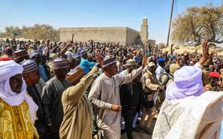 Nijerya'da yardım dağıtımı sırasında çıkan izdihamda 20 kişi öldü