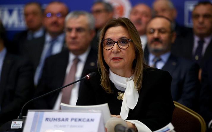 Bakan Ruhras Pekcan: Türk markaları yeni girecekleri pazarda 5 yıl desteklenecek
