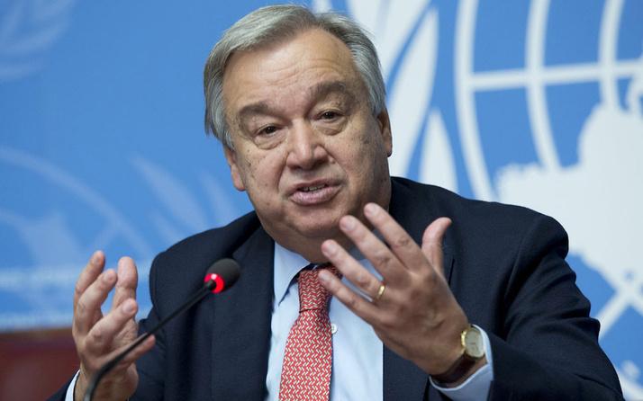 BM Genel Sekreteri Guterres'ten, Suriye'ye yardıma destek çağrısı