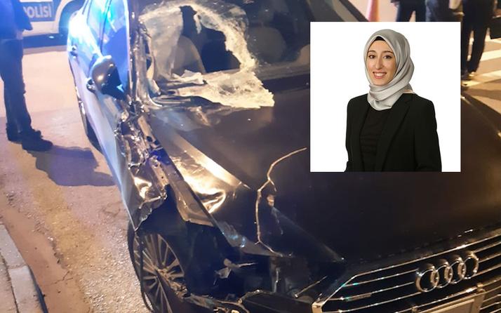 AK Parti İstanbul Milletvekili Rümeysa Kadak trafik kazası geçirdi