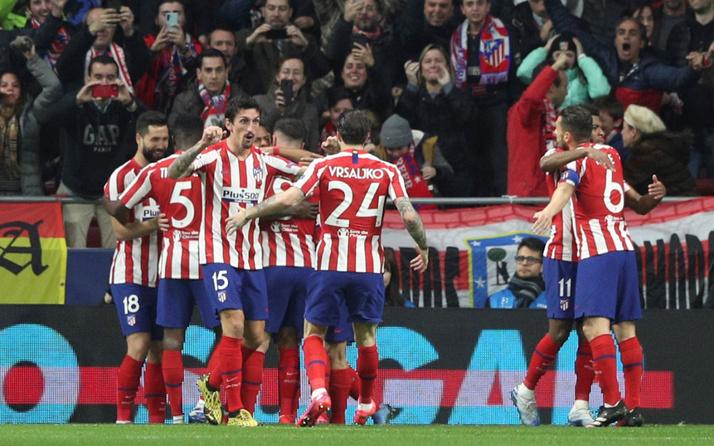 Atletico Madrid Liverpool'u tek golle yıktı