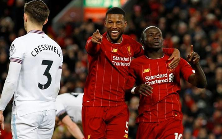 Premier Lig'de Liverpool durdurulamıyor