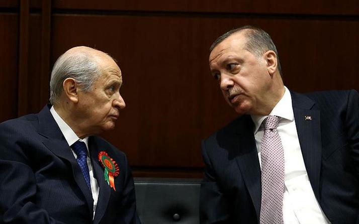 Beştepe'de sürpriz Erdoğan - Bahçeli zirvesi