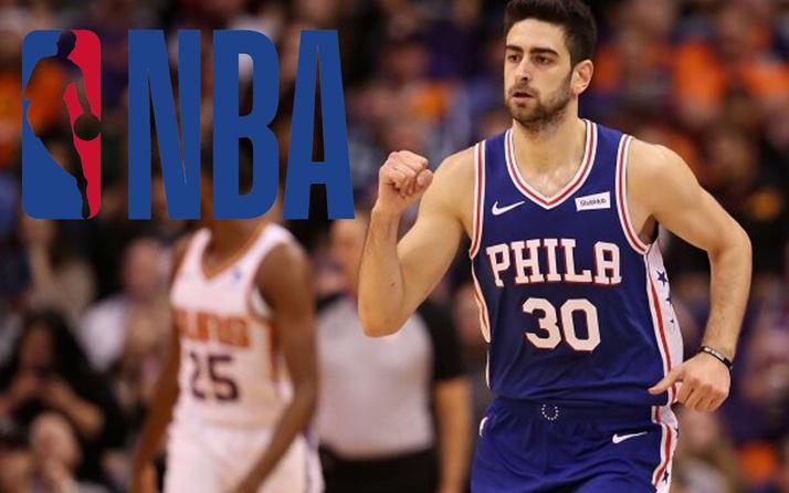 NBA'de Furkan Korkmaz'ın takımı 76ers rakibini 9 sayı farkla geçti