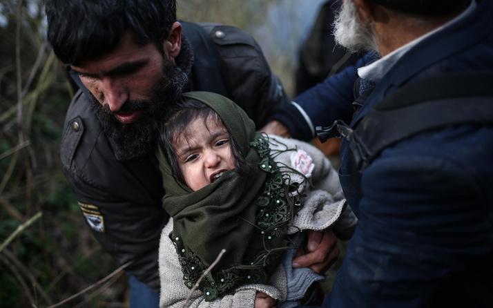 Yunanistan'a geçen Suriyeli sayısı 100 bini geçti! İşte son rakamlar