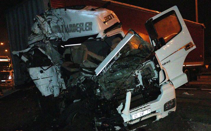Ankara'da lastiği patlayan TIR'ın tekerini değiştirirken öldüler