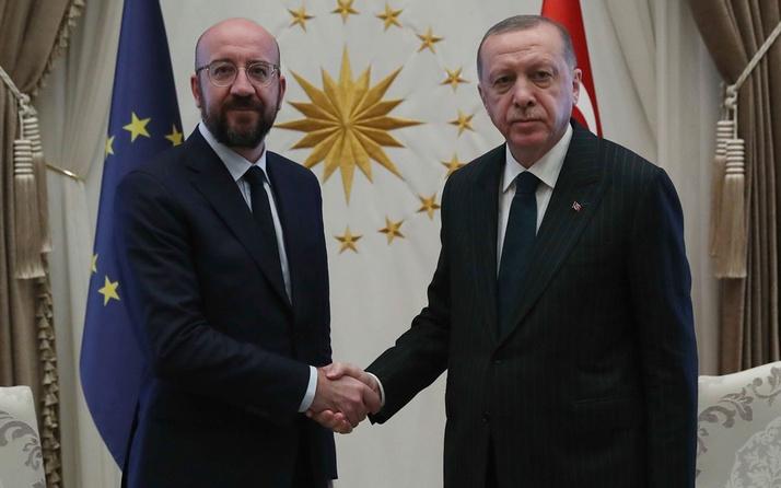 Cumhurbaşkanı Erdoğan AB Konseyi Başkanı  Michel'i kabul etti gündem mülteciler