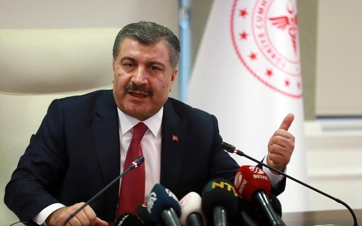 """Sağlık Bakanı Koca: """"Mücadelemiz birbirimizle değil, korona virüsle"""""""