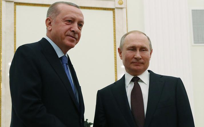 Cumhurbaşkanı Erdoğan'dan Putin'e yangın desteği için teşekkür