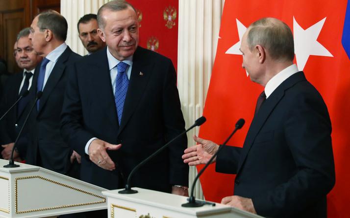 Putin'den Cumhurbaşkanı Erdoğan'a kahvaltı önerisi