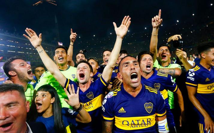 Arjantin'de şampiyon Boca Juniors