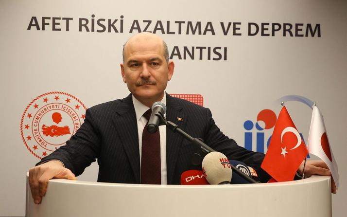 İçişleri Bakanı Süleyman Soylu İstanbul depremi için 2 korkusunu açıkladı