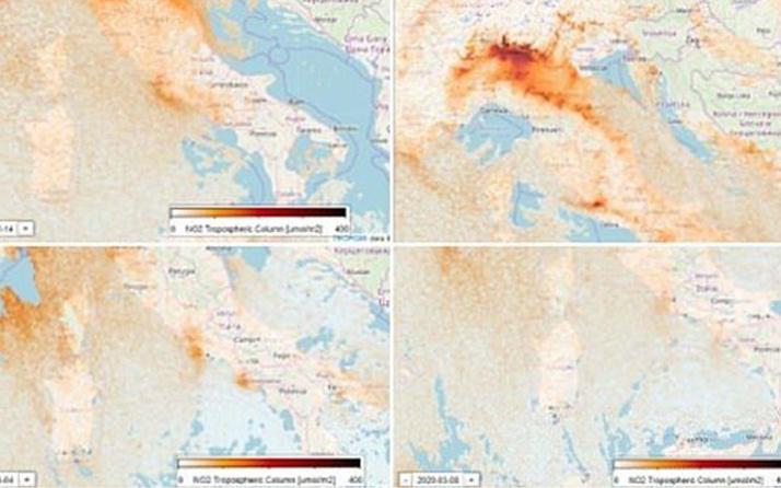 İtalya'daki Coronavirus karantinası hava kirliliğini azalttı