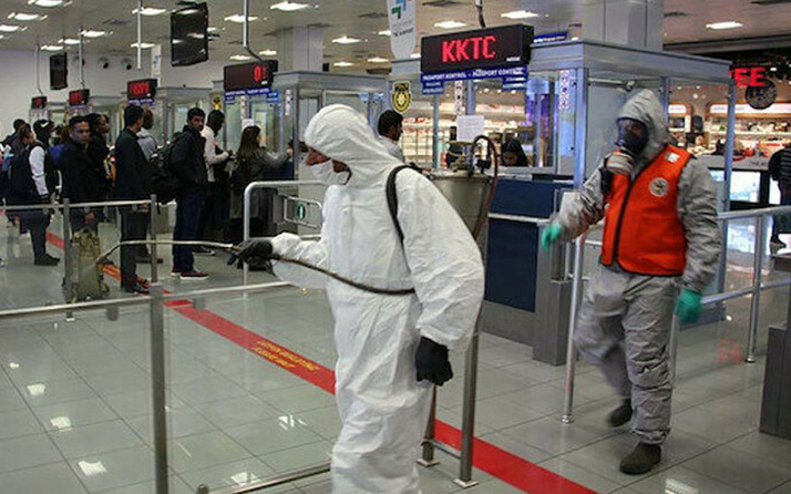 KKTC'de koronavirüslü hasta sayısı 5'e yükseldi