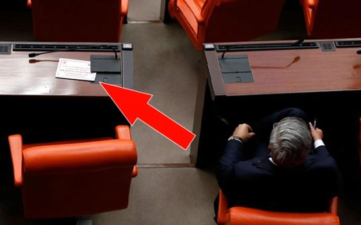 Meclis'te koronavirüs önlemi! Koltuklar boş bırakıldı vekillere kart dağıtıldı