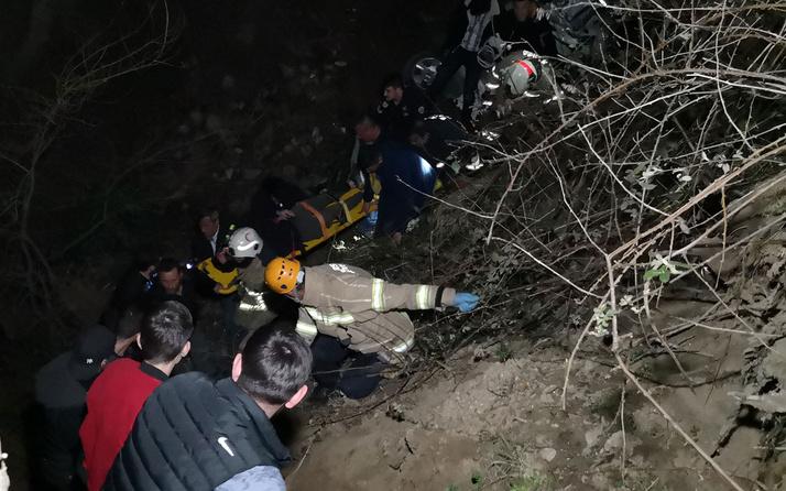 Alkollü iken kaza yaptı yardıma gelen sağlık ekibini darbetti 7 yaralı