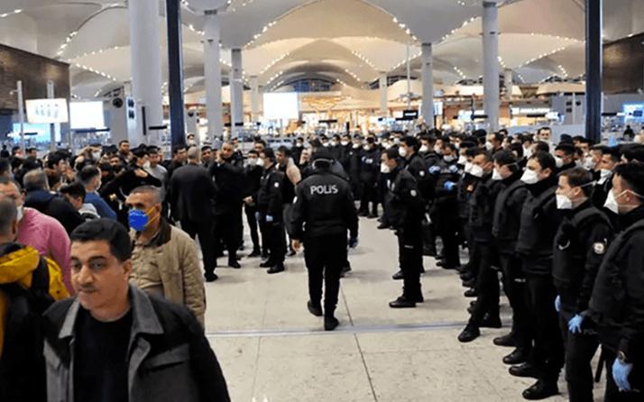 İstanbul Havalimanı'ndan 1500 yabancı uyruklu yolcu Karabük'e nakledildi