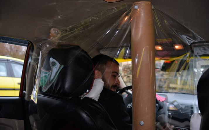 Bingöl'de taksiciden ilginç olduğu kadar da başarılı Corona virüs önlemi
