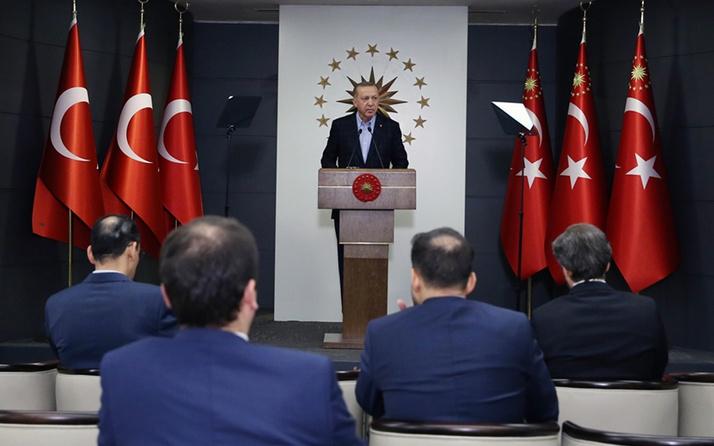 Erdoğan korovirüs tedbir paketini açıkladı