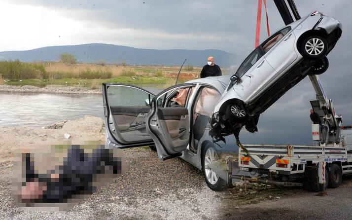 Kahramanmaraş'ta film gibi kovalamaca araçla gölete uçtu 1 ölü