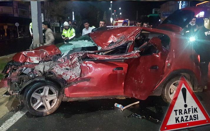 Elazığ'da otomobiller çarpıştı: 3 yaralı