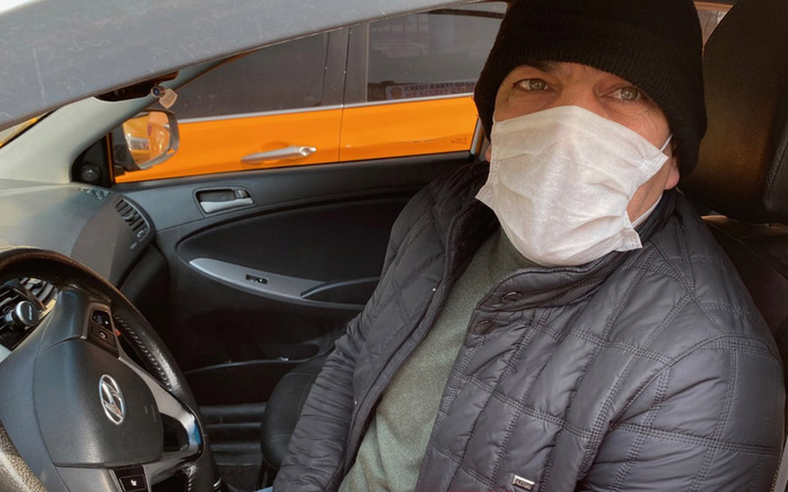 İstanbul'da koronavirüs en çok taksicileri vurdu iş yapamıyorlar