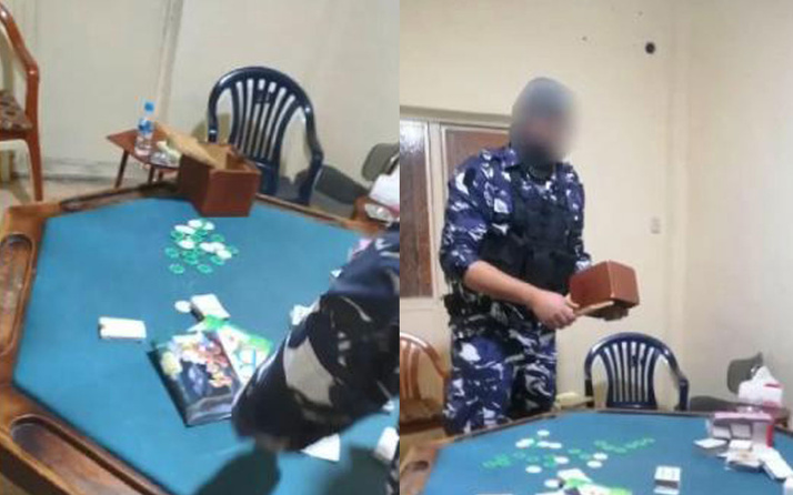 Karantinadan kaçtılar kumar masasında yakalandılar