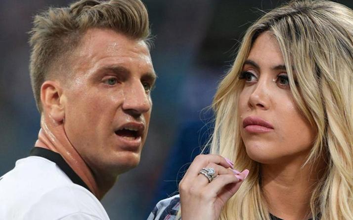 Maxi Lopez eski eşi Wanda Nara'nın sorumsuzluğuna tepki gösterdi