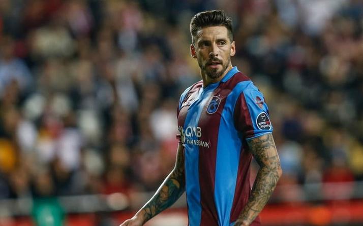 Trabzonspor'a Jose Sosa'dan sevindirici haber