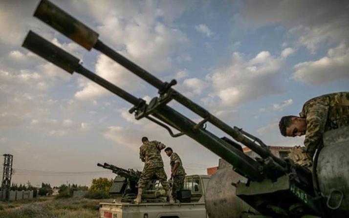Libya'da darbeci general Hafter'e ağır darbe: Hava saldırısında 20 milisi öldürüldü
