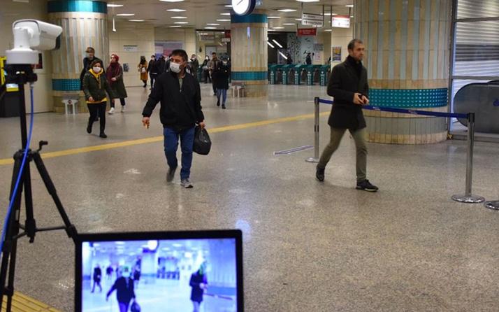 İstanbul'da koronavirüse karşı yeni dönem! Metro girişlerinde termal kameralı önlem