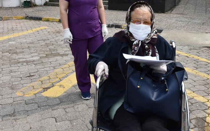 Muğla'da 76 yaşında koronavirüsü yendi 'En çok torunumu özledim' dedi