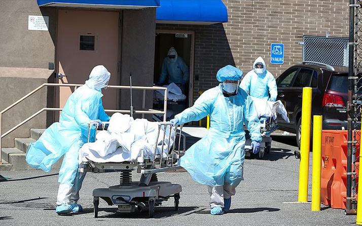 ABD'de koronavirüsten bir günde 2 bin 91 kişi öldü