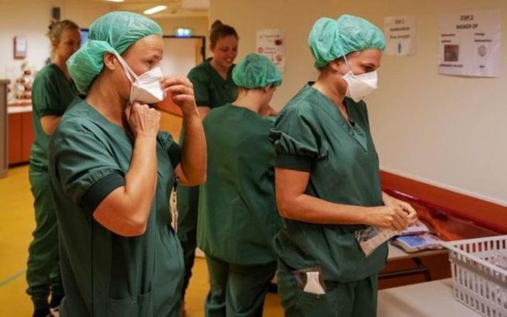 Hollanda'da sağlık çalışanları isyanda koruyucu ekipman yok
