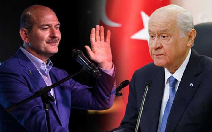 İçişleri Bakanı Soylu'dan MHP lideri Bahçeli'ye teşekkür telefonu