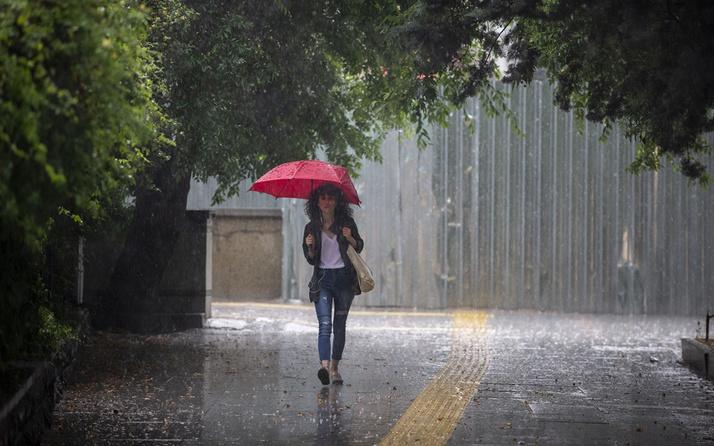 Meteoroloji'den 2021'in ilk günü için sağanak yağış uyarısı