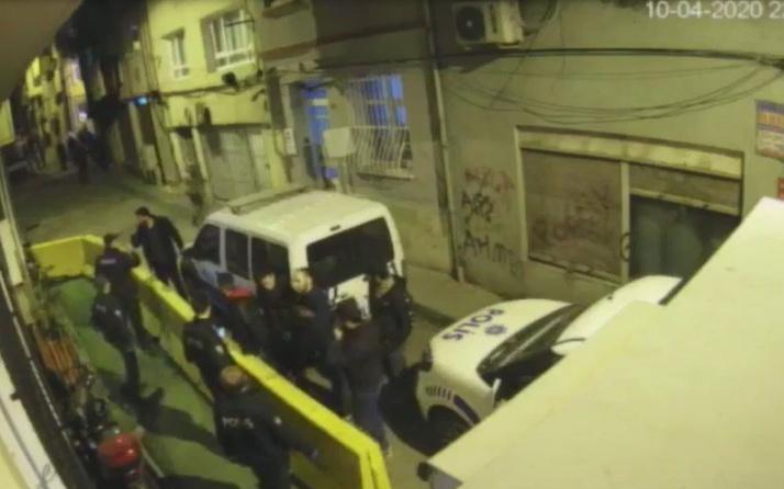 İstanbul'da 5 kişi alkol alıp bölgeye gelen polise akıl almaz tehditlerde bulundu