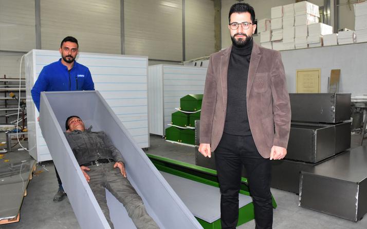 Sivas'ta koronavirüsü 'Sızdırmayan' özel tabut yapıldı 16 ülkeye ihraç ediliyor
