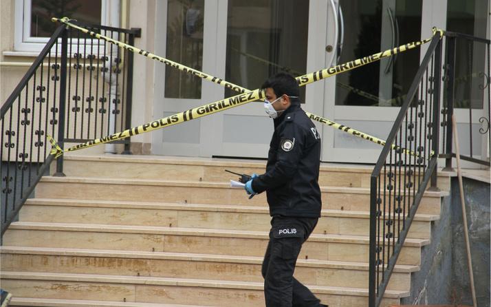 Kayseri'de 63 daireli site Kovid-19 nedeniyle karantinaya alındı