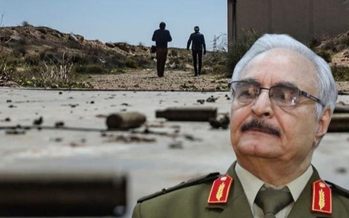 Libya'da darbeci Hafter'e ağır darbe: Bomba yağdı